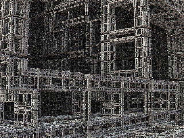 fractal 3D construction